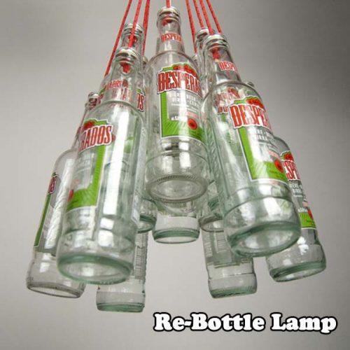 Re-Bottle Lamp